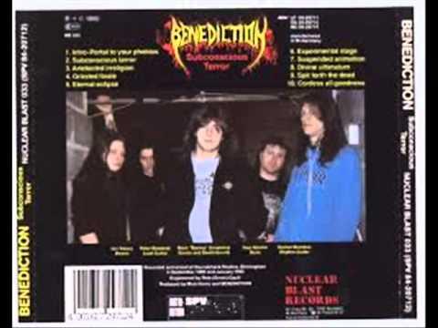 Benediction - artefacted irreligion - 1990 - birminghjam uk