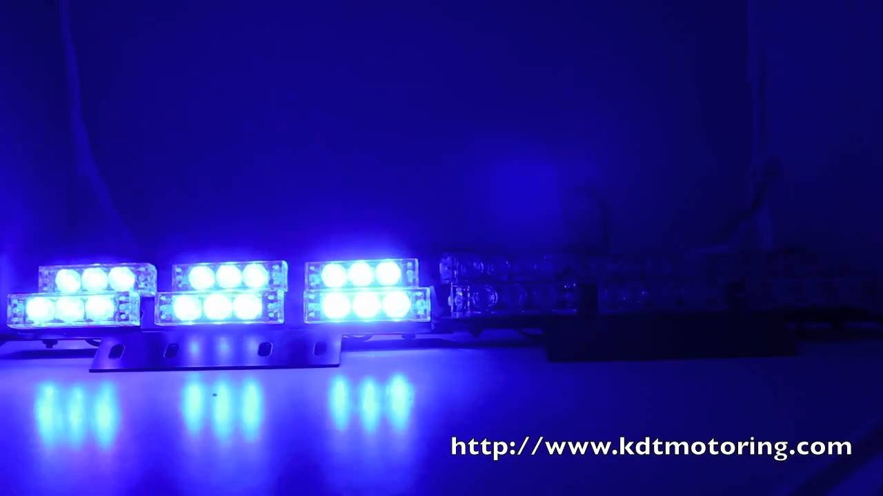 36 Led Blue Amp Red Police Firefighter Ems Ambulance