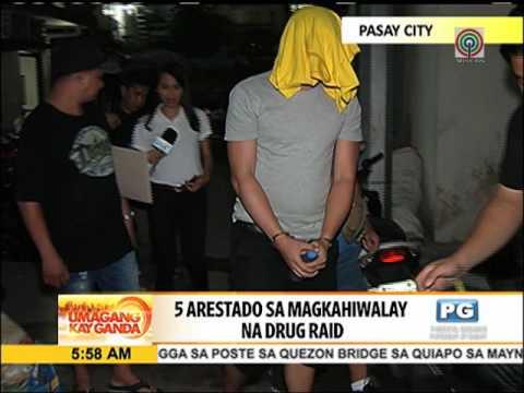 Droga, baril nakumpiska mula sa 5 suspek sa Pasay