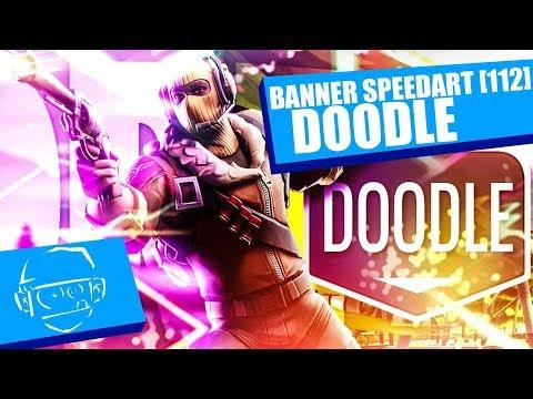 Doodle Fortnite Banner Speedart [112] |aslac