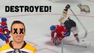 3 Minutes Of Brad Marchand Getting Destroyed!