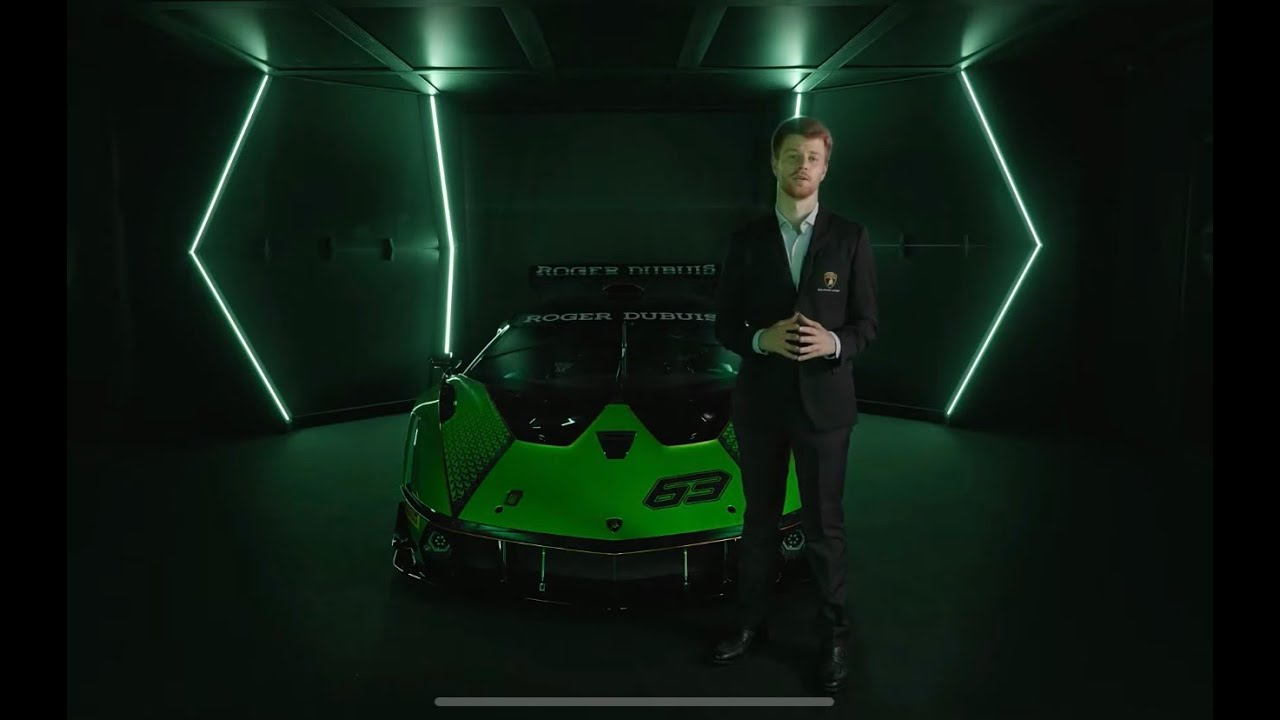 Discovering the New LAMBORGHINI ESSENZA SCV12