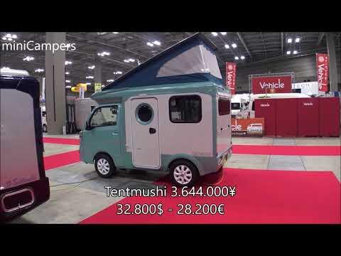 kei campers JAPAN キャンピングカー