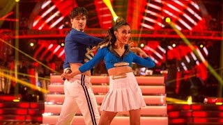 Anita Rani & Gleb Savchenko Salsa to 'Feel This Moment' - Strictly Come Dancing:  2015