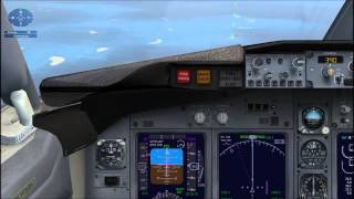 Boeing 737-800 - Аварийная посадка (отказ двух двигателей).