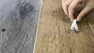 Anti Cigarette of SPC flooring