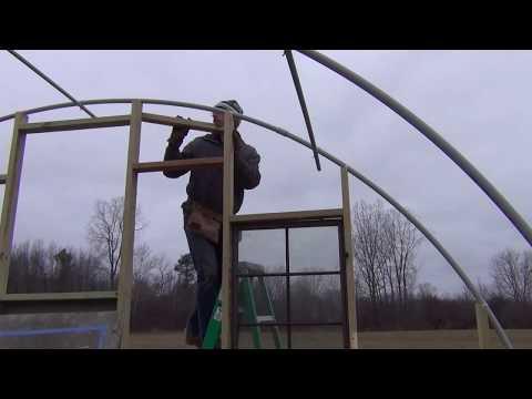 Building Greenhouse Endwalls