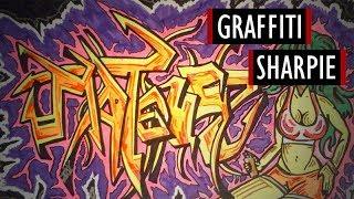 Marker Graffiti - Sharpie #5 [Kocham Rysować]