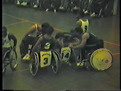 Usa vs Italy 1984 Stoke Mandeville