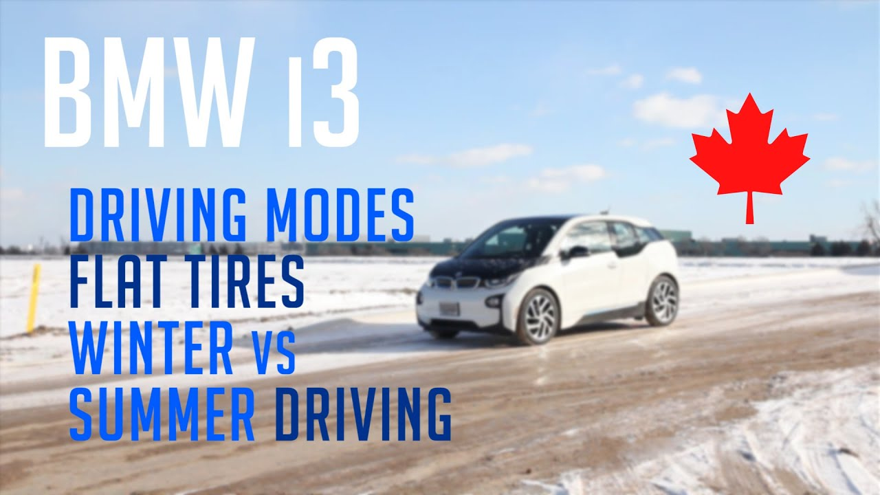 Download BMW i3 REX in Canada - Winter vs Summer Driving and Flat Tires