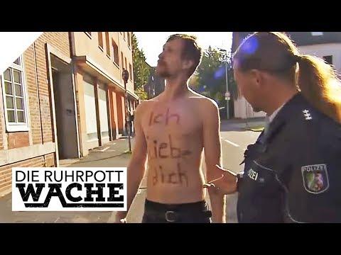 Halbnackter Mann in Rage: Seine Liebe geht zu weit | Die Ruhrpottwache | SAT.1 TV
