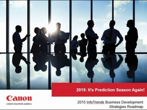 Printing Industry Predictions for 2015 Webinar – Canon Solutions America