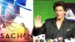 Shahrukh Khan's Reaction On Sachin   A Billion Dreams Movie
