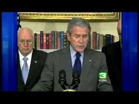 Bush: Economy At Risk For Recession