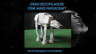 Descargar Todos Los Papercraft de star wars