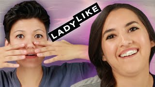 We Tried Extreme Beauty Hacks From Old Hollywood • Ladylike