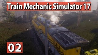 TRAIN Mechanic Simulator 2017 #2 ► ZUG Abschleppen! ► PREVIEW deutsch german
