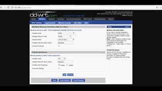 DD-WRT setup repeater mode