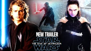 The Rise Of Skywalker New Trailer HUGE News Revealed! (Star Wars Episode 9 Trailer 2)