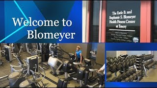 Overview of emory university's blomeyer health fitness center, a center for the faculty and staff. conveniently located on 5th floor...