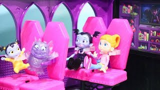 Vampirina and Her Vampire Family Go on a Trip in MH Camper ! Toys and Dolls Fun for Kids | SWTAD