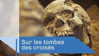 Sur les tombes des croisés