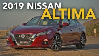 2019 Nissan Altima Review - First Drive