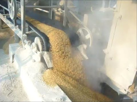 100 Ton Per Day Paddy/Rice Parboiling Plant