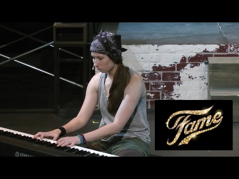 Out Here On My Own (FAME) - Michelle Creber (live performance)