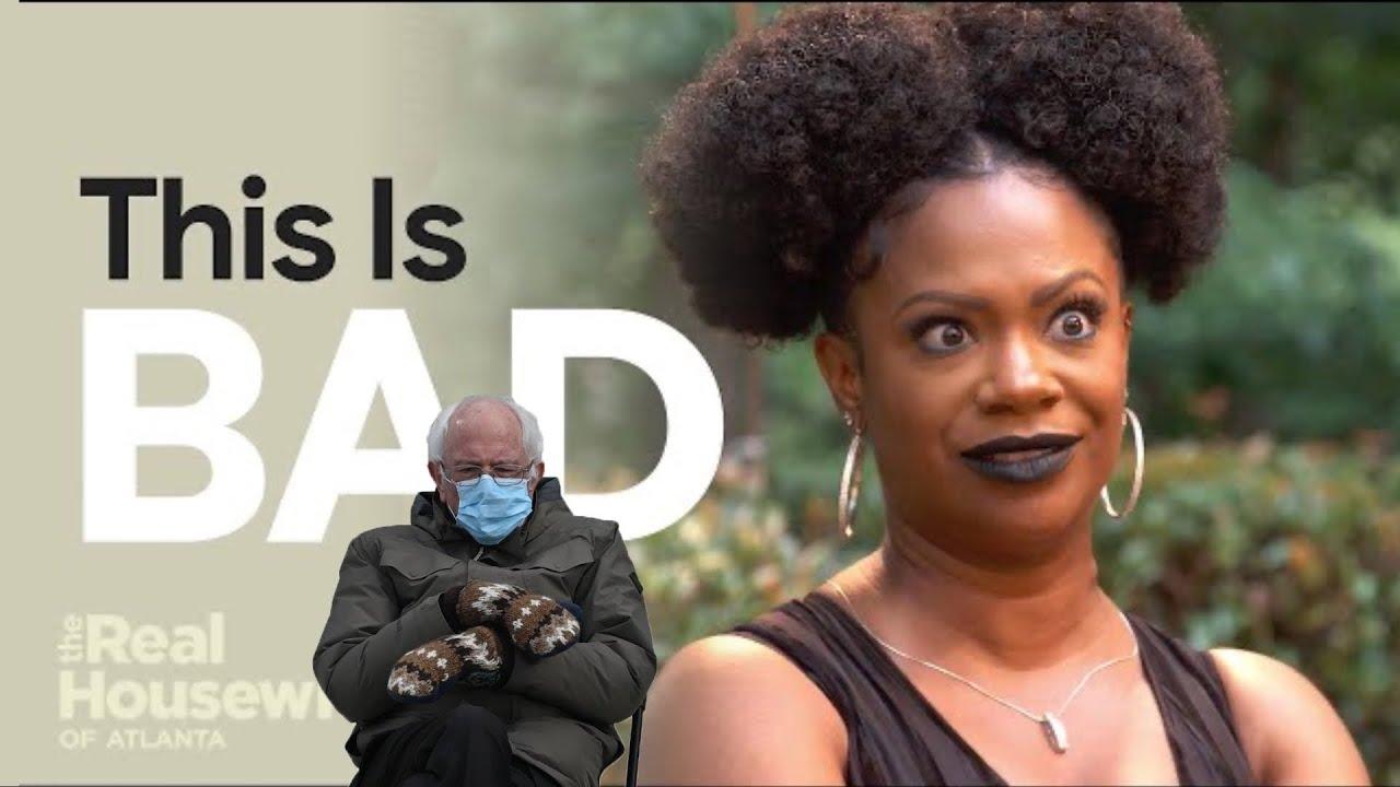 Download It's Giving Major Baby Daddy Drama 😖 #RHOA Season 13