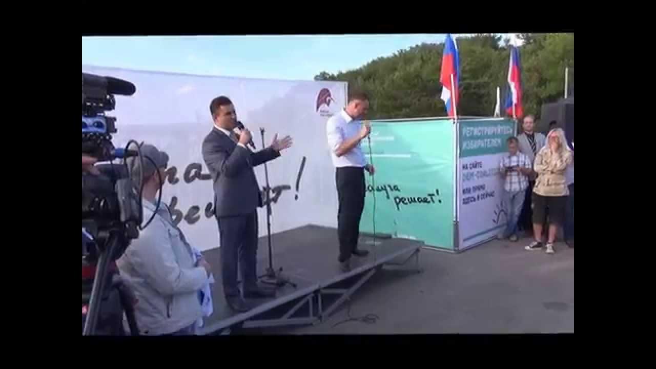 Александр Зорин дебаты Алексей Навальный Калуга