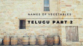 Online Class | Telugu Part 2 | Learn Telugu easily | Vegetables in Telugu  | Royalgroupofschools