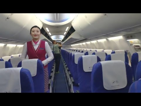 Aeroplane Boarding Entrance Wuhan To Urumqi Airport P1