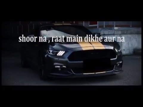 MUSTANG BOI BY ABHI (Offical lyrics video)   NEW RAP SONG 2018