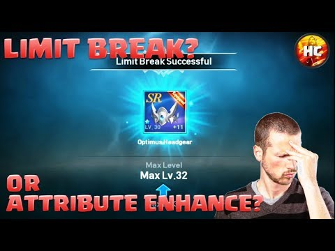 Limit break vs Attribute Enhancement - Which is Better for your Character in Lineage 2: Revolutions