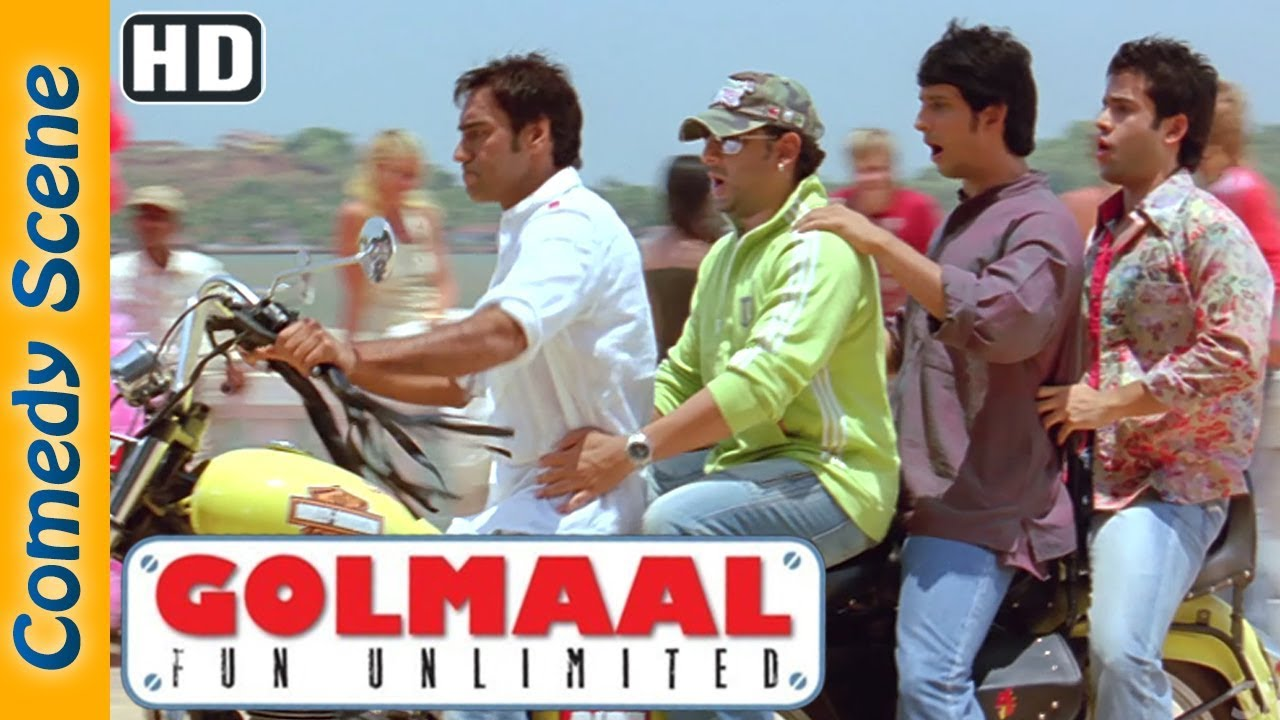 Golmaal Fun Unlimited Comedy Scenes - Ajay Devgn - Arshad Warsi  IndianComedy