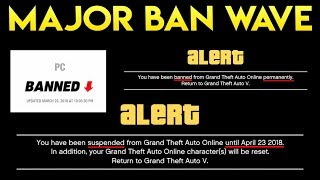GTA Online MAJOR BAN WAVE 2018 EXPLAINED! Rockstar Permanently Deleting Legit Player's Characters!