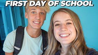 FIRST DAY OF SCHOOL // Senior Year 2020