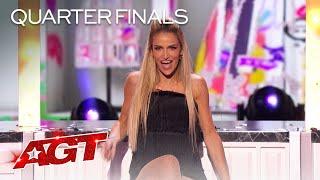 La Kyle Surprises The Judges With STUNNING Quick-Change - America's Got Talent 2021