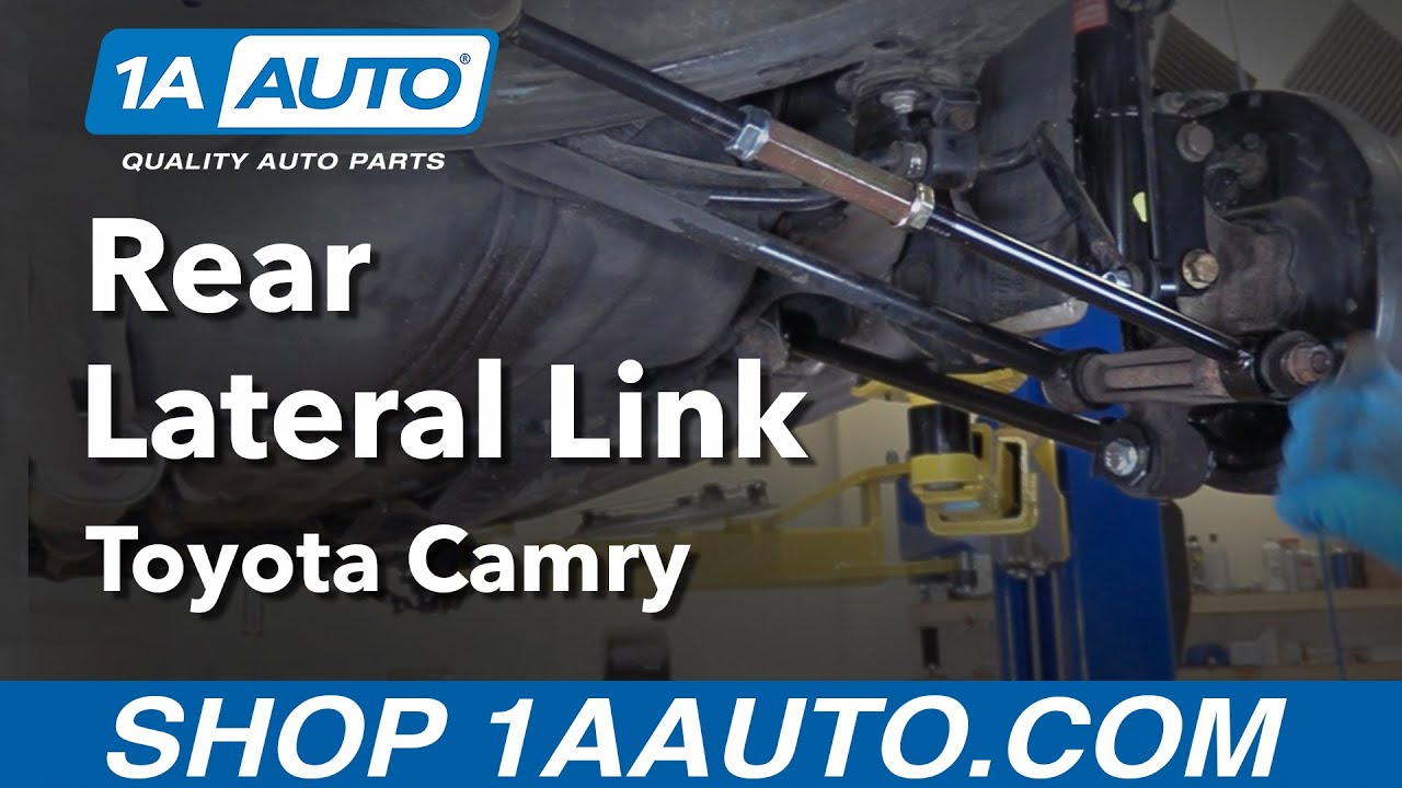 hight resolution of how to replace rear lateral link 97 01 toyota camry