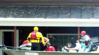 Flood Rescue Shickshinny, PA