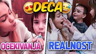 Očekivanje VS realnost DECA