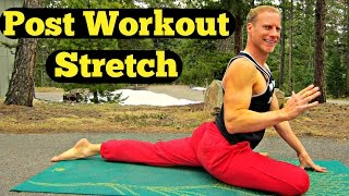 The Perfect Post Workout Stretching Routine - 15 Min Yoga Stretch Cool Down