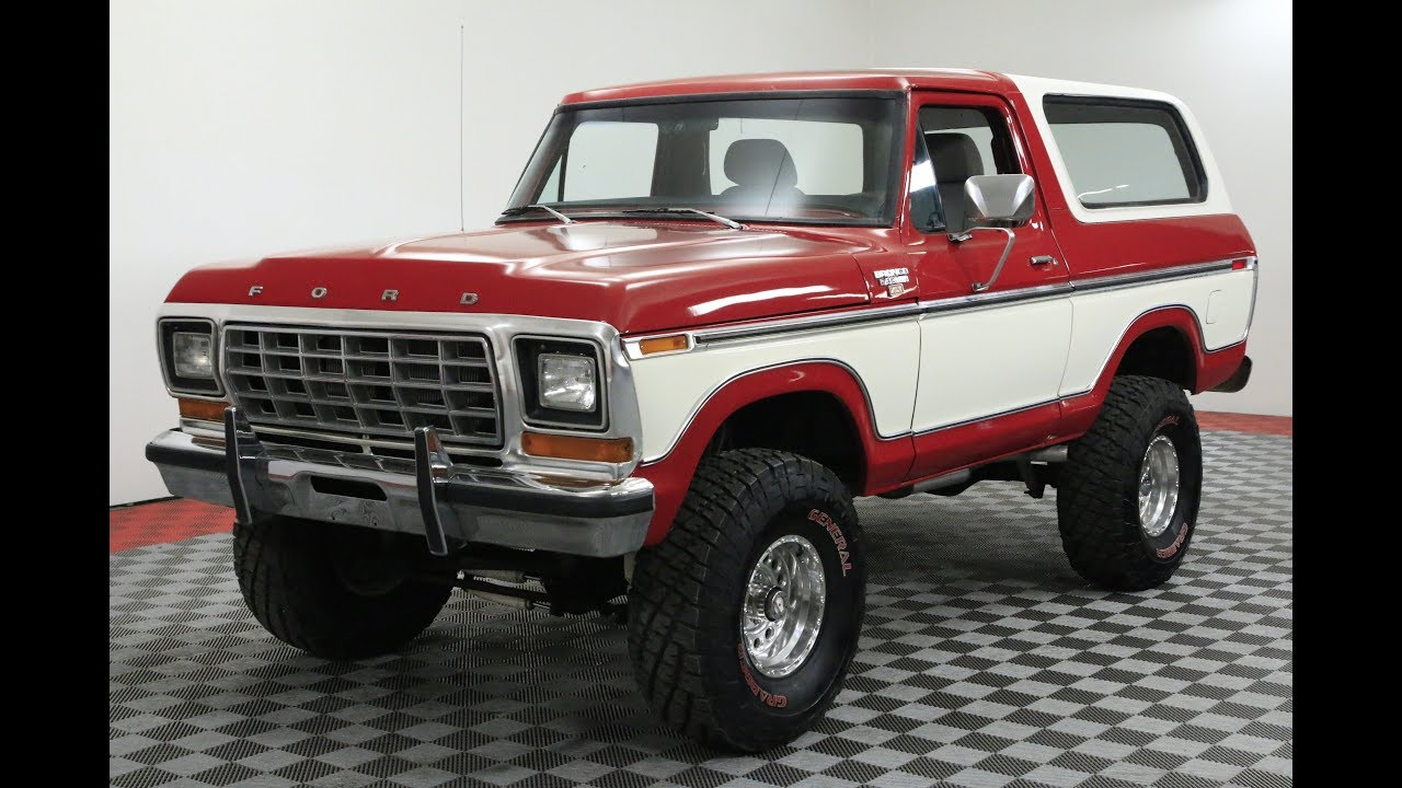 1979 Ford Bronco Youtube