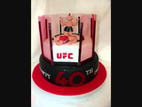 UFC Fondant Cake