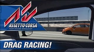 Assetto Corsa - Drag Racing (Manual Transmission)
