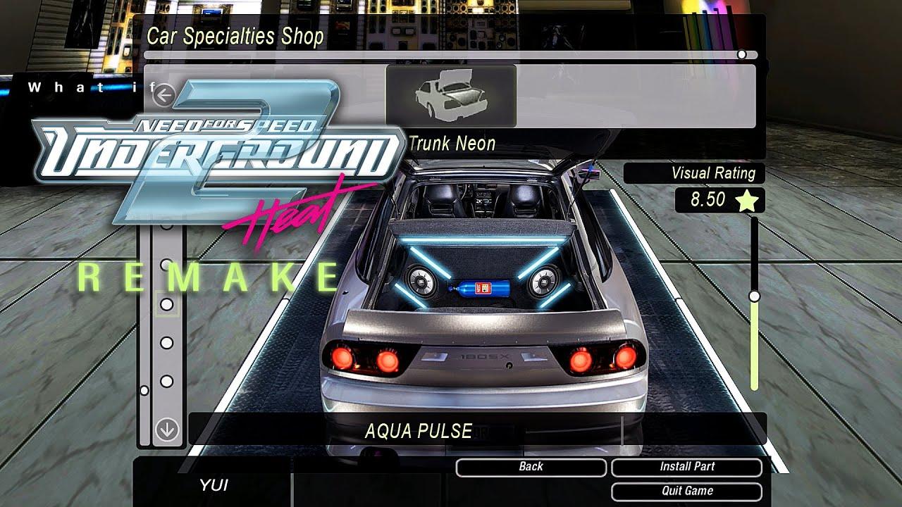need 4 speed underground 2 game