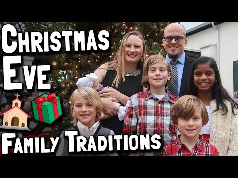 Christmas Eve Family Traditions With The Chandlers Of 2 In A Zoo