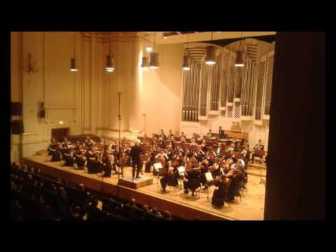 WALTORNIA: Dvorak 9, 4.movement played by students in Krakow
