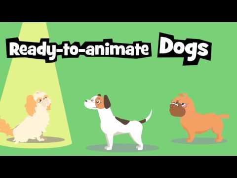 Crazytalk Animator 3 G3 Animals Dogs Youtube